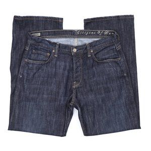 Citizens of Humanity Relaxed Button-Fly Jeans 34
